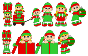 Elf Kids Boys and Girls - 2011