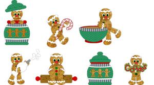 Gingerbread Cookies - 2011