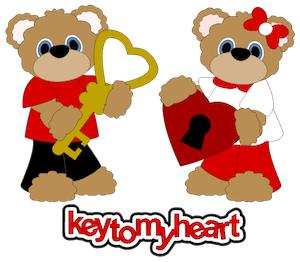 Key to My Heart Bears - 2012