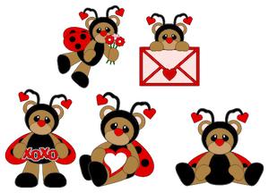 LadyBug Bears- 2012