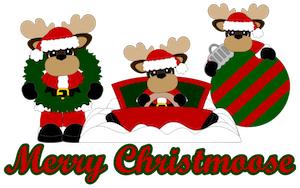 Merry Christmas Moose - 2012