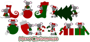 Merry Christmas Mice - 2012
