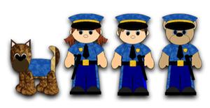 Police Dept Kidz - 2011