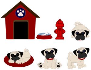 Pug Puppies - 2012