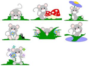 Spring Time Mice - 2012