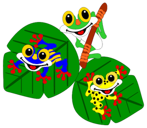 Tropical Tree Frogs - 2012