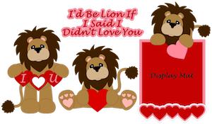 Valentine Day Lion- 2012