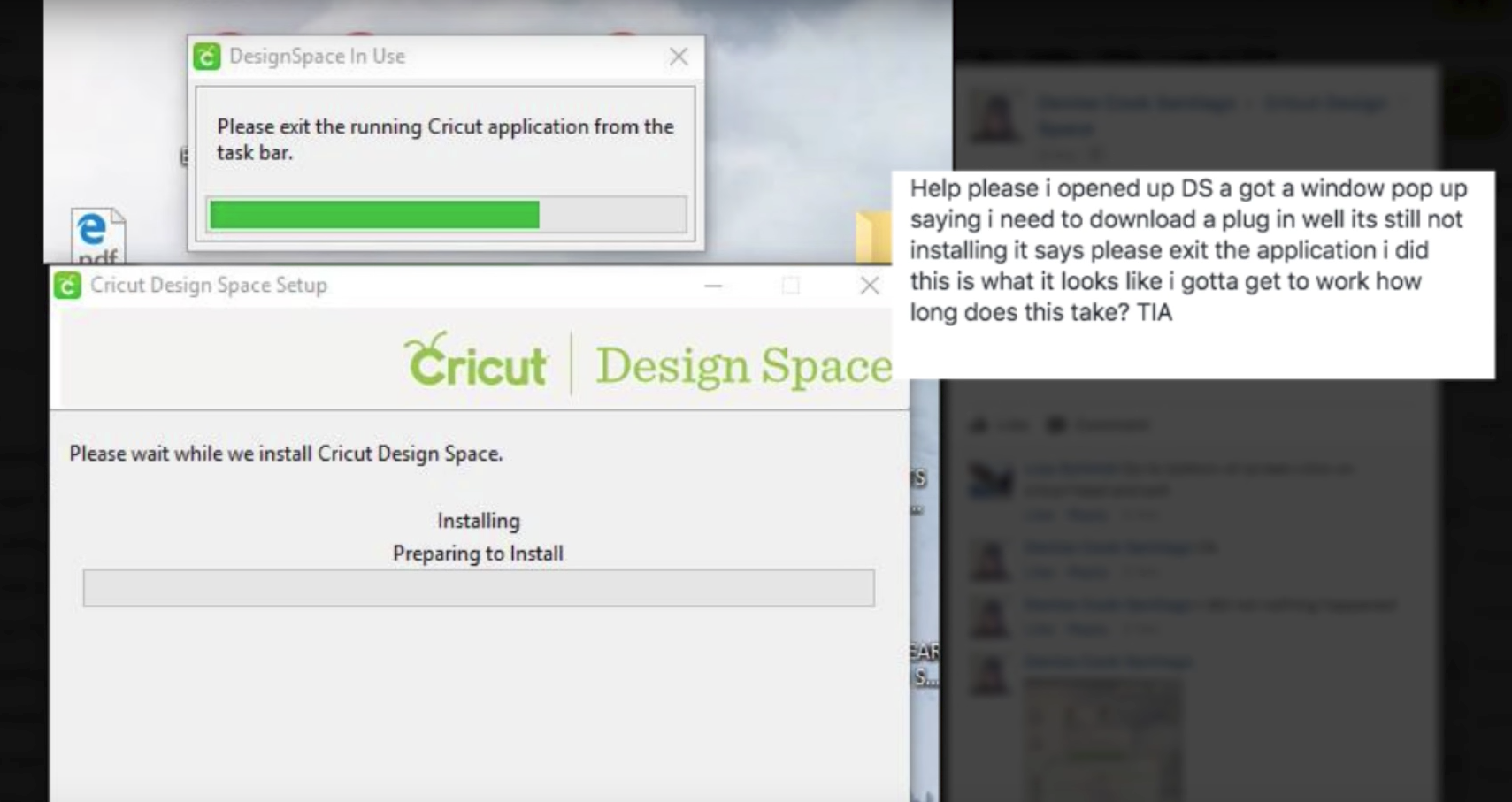 Cricut Design Space Plugin Won't Update Issue - Solved | ScrappyDew
